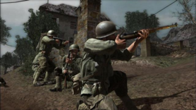 American soldeirs aiming CoD3