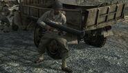 US Soldier shooting Bazooka Battle of Peleliu World at War