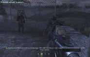 Rappelling ropes Blackout CoD4