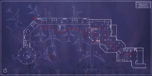 Zakhaev International Airport blueprints MW2
