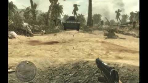 CoD WaW 4 Ray Guns on Little Resistance Tutorial