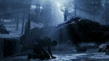 Soldier in winter forest BOIII