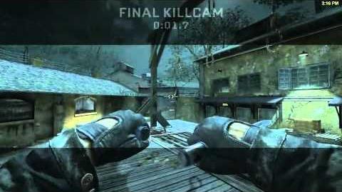 Ballistic knife Killcam 1 (Call of Duty Black Ops)