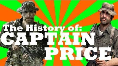 Captain Price A History