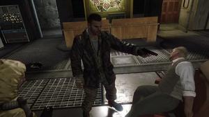 Mason executing
