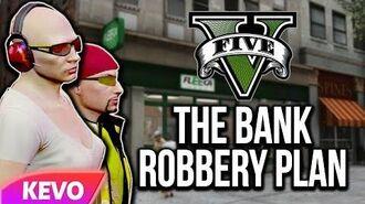 GTA V RP- The Bank Robbery Plan