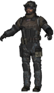 SEAL Team Six LMG model BOII