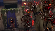 Ancient Evil Skeleton Warriors Bo4