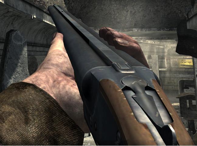 Double-Barreled Shotgun | Call of Duty Wiki | FANDOM powered