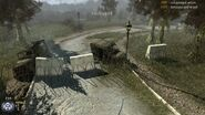 Cod mw 2 MP Overgrown Destroyed Uaz 3151