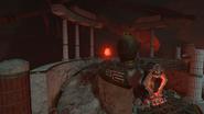 Szybka podróż Ancient Evil centrum świata