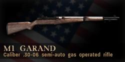 M1 Garand Menu Icon CoD3