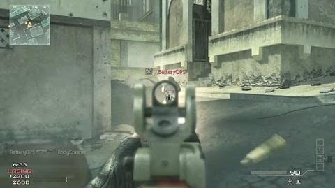 Callofduty4/Modern Warfare 3 Weapon Proficiency and Equipment trailer
