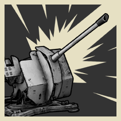 Defender trophy icon WWII