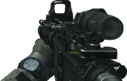 M4A1 Hybrid Sight Off MW3