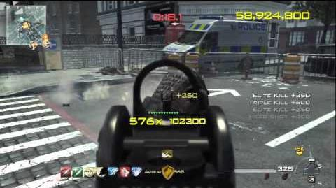 MW3 Chaos 125million Score - 793 Combo in Underground