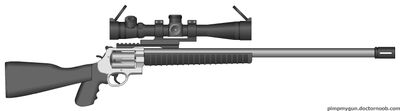 The magnum sniper