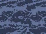 Kamuflaż niebieski tygrys
