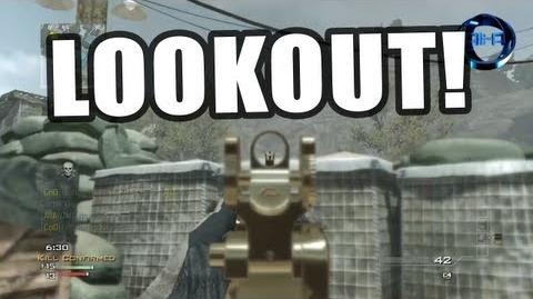 "New! MW3 ""LOOKOUT"" Face Off Gameplay! - Modern Warfare 3 New DLC!"