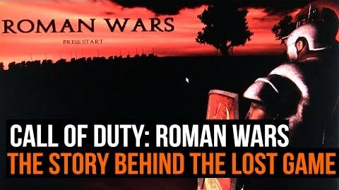 Call of Duty Roman Wars - The story of the lost CoD