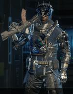 Prophet Cyberpunk outfit BO3
