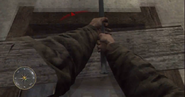 Swinging crowbar CoD3