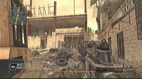 COD4 TDM on backlot w