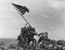 Iwo Jima U.S.A Flag