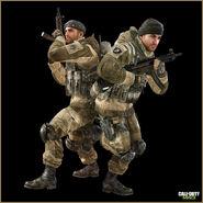 Russian soldier Survival Special Ops Modern Warfare 3