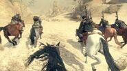 Атака на лошадях