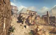 COD Ghosts Invasion Pharaoh Environment
