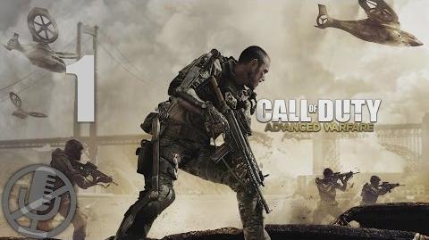 Call of Duty Advanced Warfare Прохождение На Русском Часть 1 — Боевое крещение