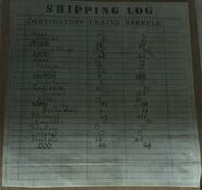 Shipping Log Convoy BO