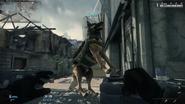 Сторожевой пёс как лошадь в Скайриме