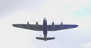 B-24 fire bombing run WWII