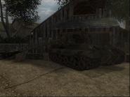 The corridor of death tiger II CoD3 PS2