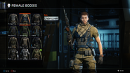 Undercover Body Female BO3