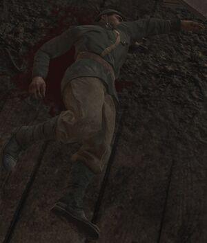 Раненый советский солдат 2 (Их земля, их кровь)