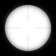 DSR 50 Scope Reticle BOII