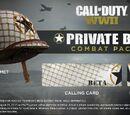 Private Beta Combat Pack