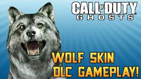 "Call of Duty Ghosts ""Wolf Skin Gameplay"" Guard Dog Killstreak DLC (Xbox One ""The Wolf"")"