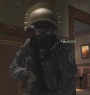 Faucon gas mask