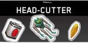 Head Cutter Sticker Pack IW