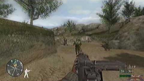 Call of Duty 2 Big Red One - Sicily, Mission 7 2 3