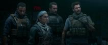 "The Team back at base in ""Jackpot"" cinemetic Modern Warfare"