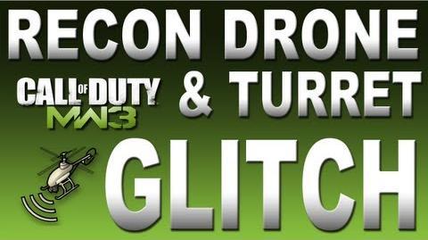 Modern Warfare 3 Recon Drone & Turret Glitch