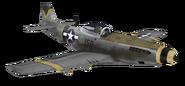 P-51 Mustang model WaW