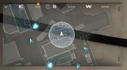 Действия Скремблера на мини-карте