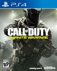 Infinite Wafare PS4 Box Art