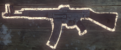 StG-44 BO3 on wall